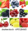 Fresh berries - stock photo