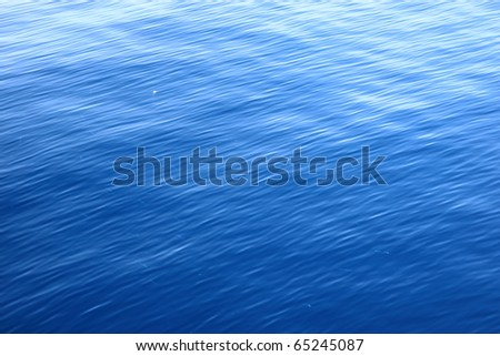 Fresh Blue Water Ripple Texture - stock photo