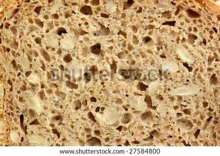 fresh bread texture