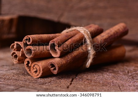 Fresh cinnamon  - stock photo