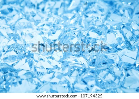 fresh cool ice cube - stock photo