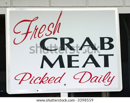 Fresh Crab Meat Picked Daily
