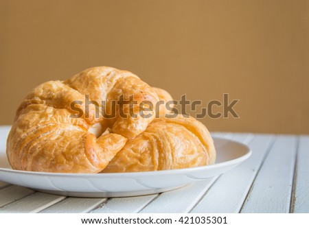 Fresh Croissants, Delicious Breakfast