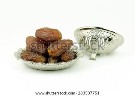 Fresh Dates for Ramadan Concept - stock photo
