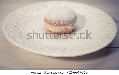 Fresh donuts. homemade doughnuts - stock photo