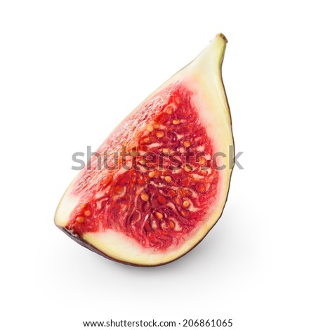 Fresh fig - stock photo
