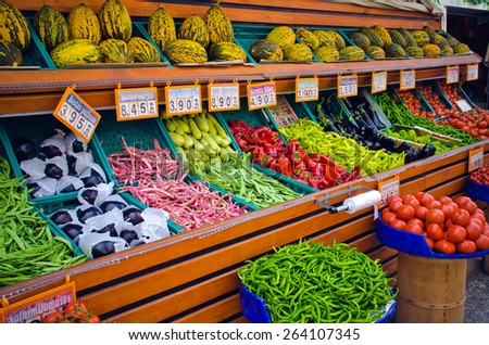 Fresh food market