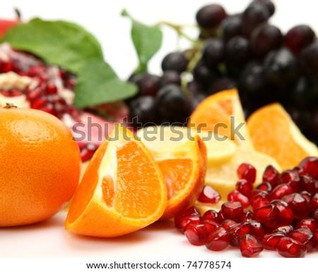 Fresh fruit - stock photo