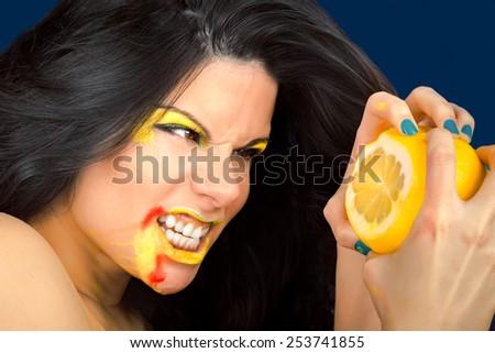 Fresh Fruit Beauty - stock photo