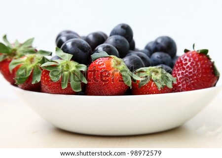 Fresh fruits for salad