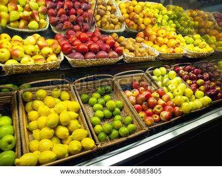 Fresh Fruits in the market