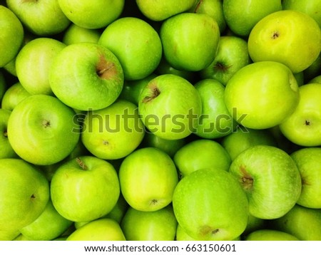 fresh green apple background