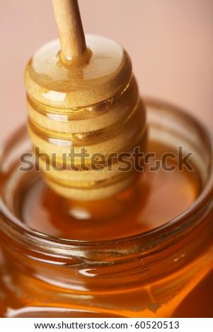 Fresh honey - stock photo