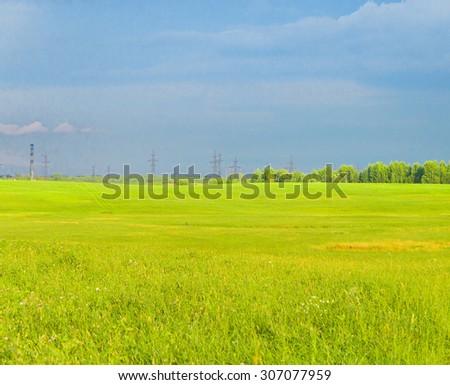 Fresh Landscape Nobody Outside  - stock photo