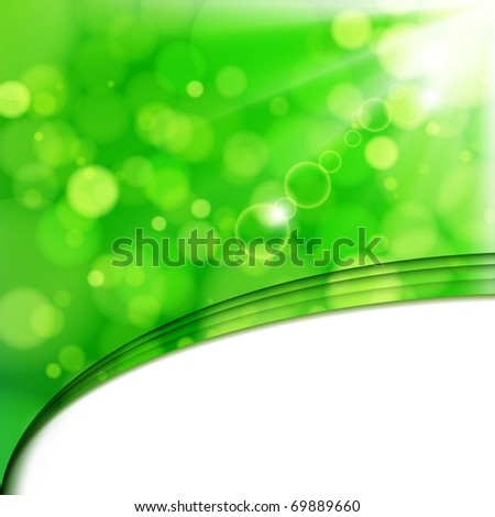 Fresh lime blur background with sunlight spots. - stock photo