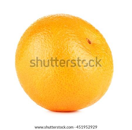 Fresh Mandarin Isolated - stock photo