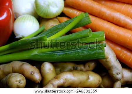Fresh Market Vegetable  - stock photo