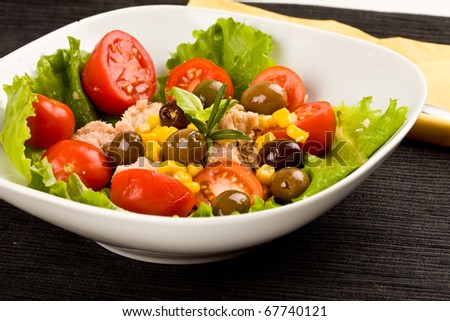 fresh mixed italian salad