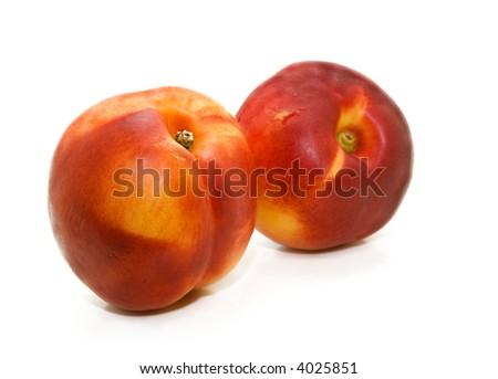 Fresh Nectarines - stock photo