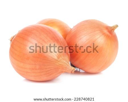 Fresh onions    - stock photo