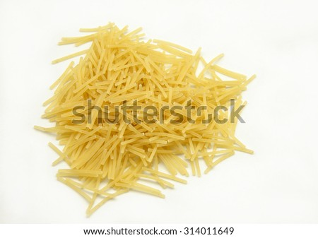 Fresh pasta noodles