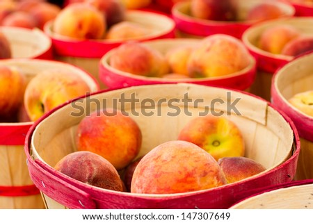 Fresh produce at the local farmer's  market. - stock photo