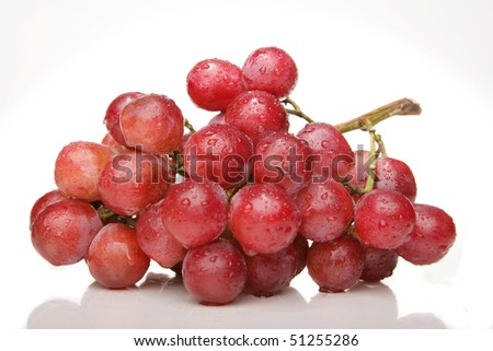 Fresh ripe grapes - stock photo