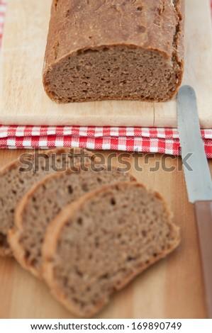 Fresh rye bread  - stock photo