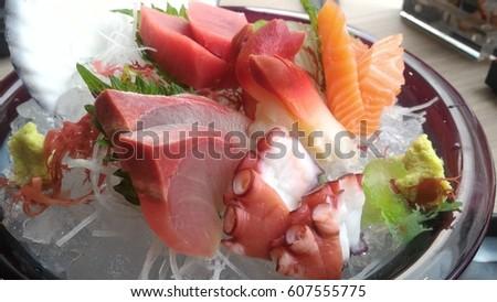 how to make fresh salmon sashimi
