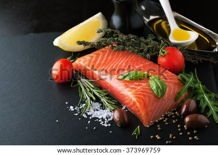 Fresh Salmon Stock Images, Royalty-Free Images & Vectors ...
