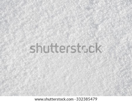 fresh snow background - stock photo