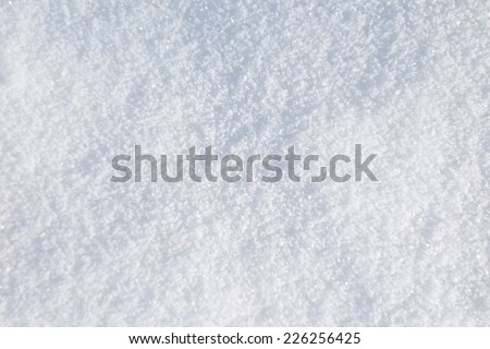fresh snow background (series) - stock photo
