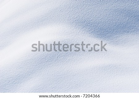 Fresh snow in sunshine background - stock photo