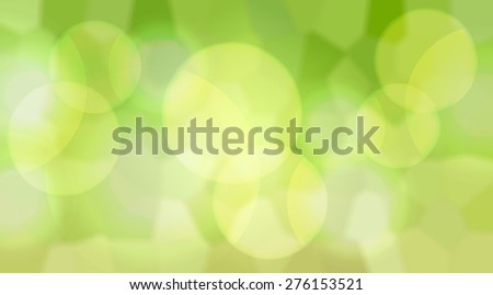 Fresh Spring green bokeh background - stock photo