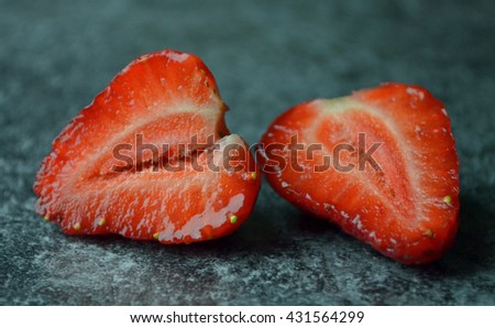 fresh strawberries from poland