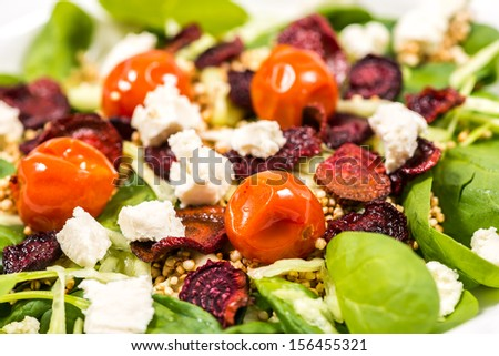 Fresh Summer Salad - stock photo