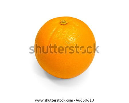 Fresh tropical fruit - orange - stock photo