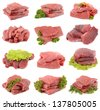 Fresh veal - stock photo