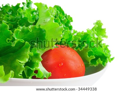 Fresh vegetables. - stock photo