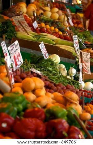 Fresh Veggies - stock photo