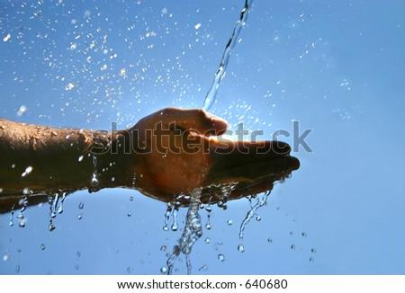Fresh water - stock photo
