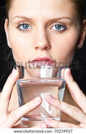 fresh water - stock photo