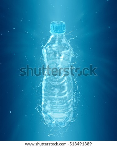 Fresh Water Bottle Splash