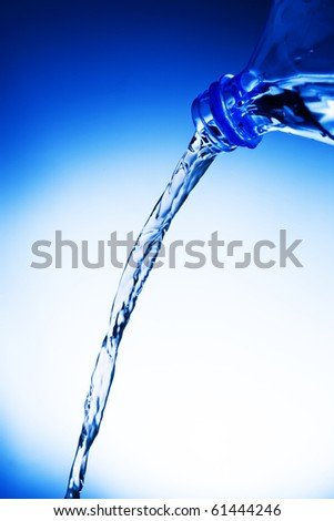 Fresh Water Splashing - stock photo