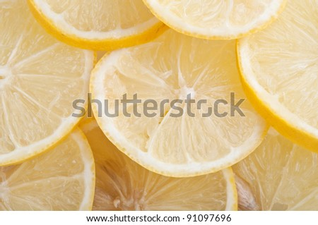 fresh yellow lemon isolated on a white background