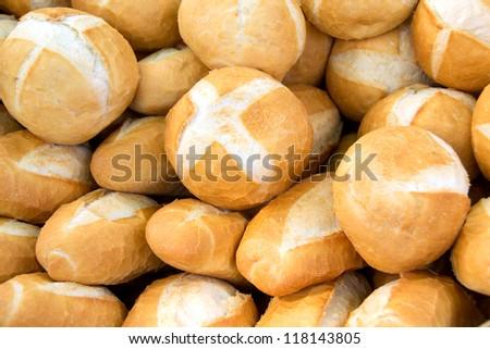 Freshly bread loaves - stock photo