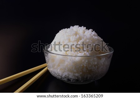 Freshly cook rice