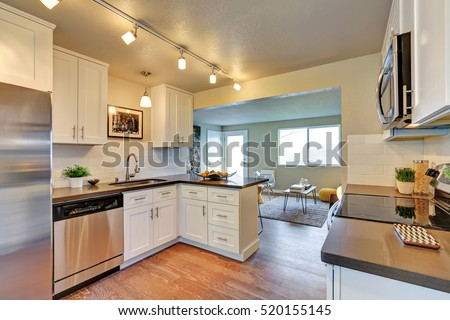 Remodeled Kitchen kitchen remodel stock images, royalty-free images & vectors
