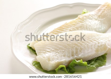Freshness flat fish - stock photo