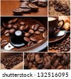 Freshness of fragrant coffee - stock photo